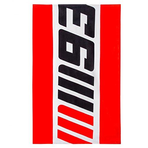 Marc Marquez 93 Moto GP Logo Toalla Playa Rojo Oficial