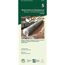 Blatt 5, Bergstraße-Odenwald: Wander- und Radwanderkarte 1:20.000. Mit Alsbach-Hähnlein, Bensheim, Fürth, Lautertal, Lindenfels, Modautal, ... und Naturpark Neckartal-Odenwald)