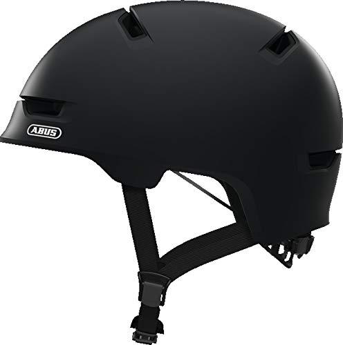 ABUS SCRAPER 3.0 2019 CITY BMX Fahrrad Helm Radhelm Skate Helm Inline Helm ABS(concrete grey,L (57-62cm Kopfumfang)) -
