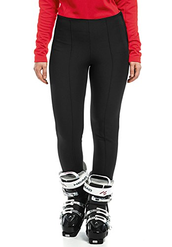 maier sports Damen Sonja Skihose, Black, 36