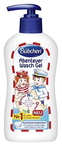Bübchen Kids Abenteuer Wasch Gel,  4er Pack (4 x 200 ml)
