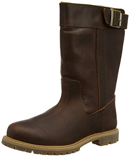 Timberland Damen Nellie Pull on Waterproof Stiefel, Braun (Medium Brown Full Grain), 38 EU