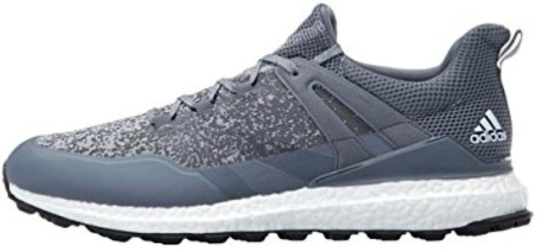 Adidas Crossknit Boost Zapatos de Golf para Hombre, Multicolor (Gris/Blanco), 47. 1/3
