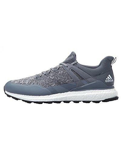 Adidas crossknit Boost Golf Schuhe, Herren, Herren, Crossknit Boost, grau / weiß, 43.3