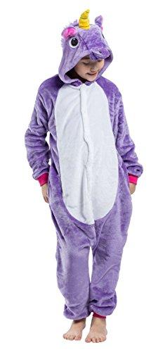 Imagen de pijama unicornio niño niña animal cuerpo entero mujer familiar navidad halloween disfraz alternativa