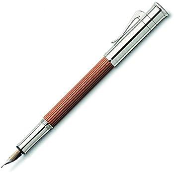 Graf von Faber-Castell Medium Classic Platinum Plated Fountain Pen - Pernambuco