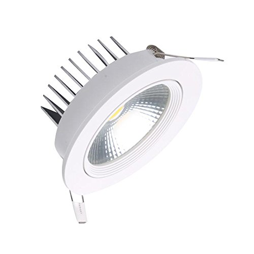 Ledbox Downlight LED, 10 W, Blanco Frío
