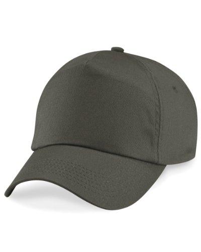 Beechfield Original 5 Panel Cap, verschiedene Farben Olive Flex-fit Cotton Twill Cap