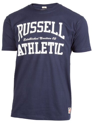 russell-athletic-maglietta-sportiva-uomo-uomo-blu-l