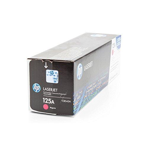 Preisvergleich Produktbild Toner ORIGINAL zu HP Color Laserjet CP 1210 1213 1214 1215 1216 1217 1510 1513 1514 1515 1516 1517 1518 1519, CM 1312 1512 N CI CB EB EI WB WI A H W NI NFI MFP, 1x magenta / rot, 1.400 Seiten, ersetzt 125A, CB543A