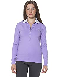 dbee41f5 Amazon.co.uk: Fred Perry - Tops, T-Shirts & Blouses / Women: Clothing