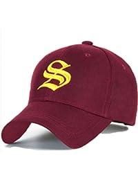 Casquette Réglable casquette de baseball inscription lettrage noir blanc hip-hop Star chapeau