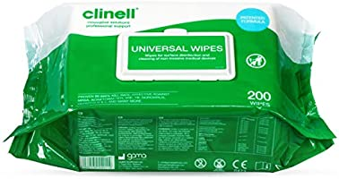 Clinell Universale Sanificazione Salviette - Kills 99.99% of Germi, Disinfettare