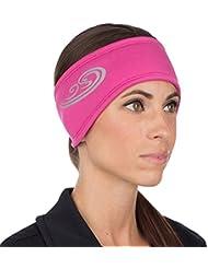 TrailHeads Women's Hyper Reflect Power Ponytail Headband - berry