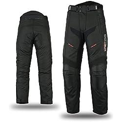 Mbsmoto - Pantalon de moto en textile Cordura étanche et coupe-vent - MP-51