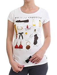Maison Scotch T-shirt pour femme–1324–07.51837–Dessin A