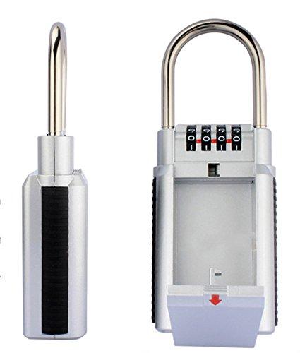 che Key Box Lock mit Big Kapazität, Schlüssel Aufbewahrung sicheren Kombination lock-door Griff für den Außenbereich (Lock-und-lock-big Box)