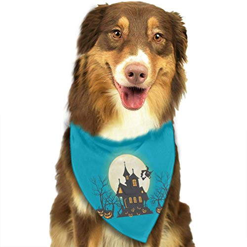 Osmykqe Hundebandana-Haustier-Schal-Halloween-Kürbis-klassischer niedlicher Haustier-Hündchen-Bandana-Schal Lätzchen