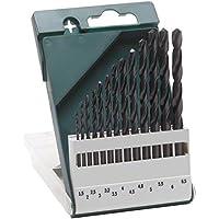 Bosch 2609255031 HSS-R Metal Drill Bit Set, 13 Pieces