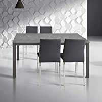Amazon.it: Grigio - Tavoli da sala da pranzo / Sala da pranzo: Casa ...