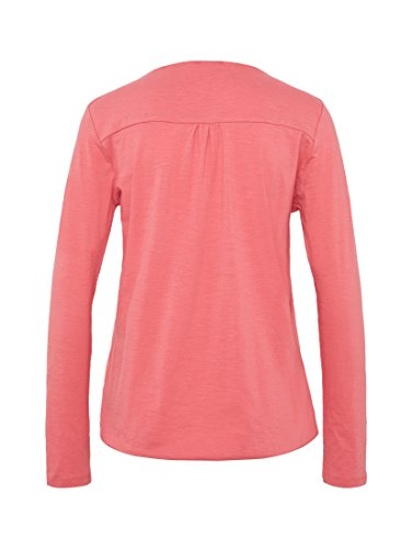 TOM TAILOR Damen Langarmshirt Cute Basic Blouse Shirt dark dusty rose