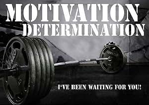 Empire Merchandising-Motivation détermination-I ve été waiting for you-Citation-gym-A3 Empire Merchandising GmbH Poster avec citation de sport, SPORTS, boxe, vélo, athlétisme, body-building, TRIATHLON, BASKETBALL, FOOTBALL, la natation, le RUGBY, boxe, ARTS martiaux, de GOLF, de HOCKEY, SQUASH