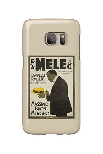 mele-and-ci-cappelli-paglie-vintage-poster-artist-laskoff-italy-c-1902-galaxy-s7-cell-phone-case-sli