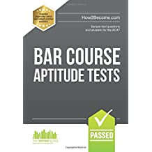 BAR COURSE APTITUDE TESTS:: Sample test questions and answers for the BCAT: 1 (Testing Series)