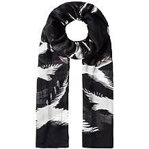 e6f0c6e5661e Vincenzo Boretti écharpe-foulard femme, design à la mode, élegant, toucher  doux