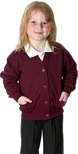 School-Uniform-Sweatshirt-Cardigan-Fleece-Cardy
