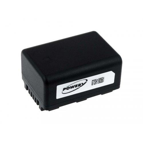 Batteria per video Panasonic SDR-S50 inclusivo caricabatteria