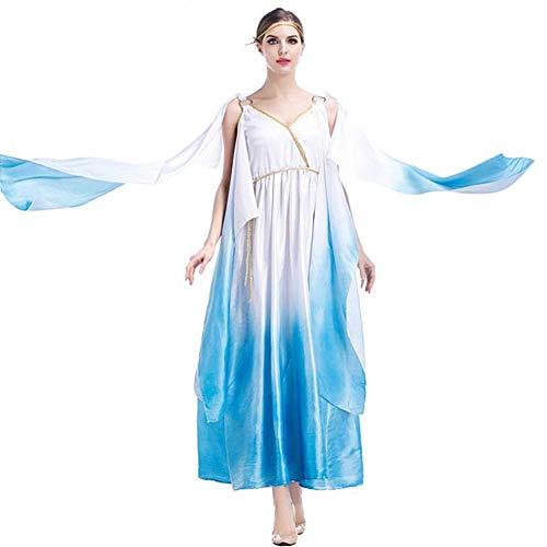 Erwachsenen Kostüm Goldene Für Göttin - ASDF Big Swing Kleid Cleopatra Kleid Griechische Göttin Cosplay Kostüm Halloween Kostüm