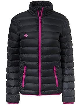 IZAS mujeres del Etna mount-loft acolchado chaquetas, mujer, color Black/Fuxia, tamaño XXXXXXL