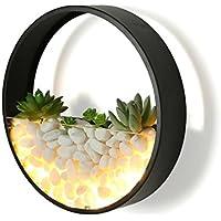 & Wandleuchten Wandleuchte Schlafzimmer Kamin Schmiedeeisen Wandleuchte Runde LED Nachttischlampe Stein Lampe... preisvergleich bei billige-tabletten.eu