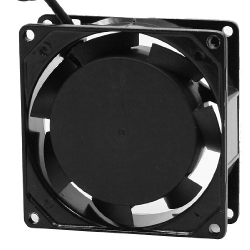 sourcing map Axial Lüfter 80 mm, AC 220-240V 0.07A Blower Ventilator