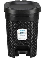 Kolorr Stitch Pedal Waste Bin Modern Design Trash Can Plastic Dustbin - 7L