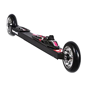 barnett paire de ski-roues RSC-CARBON 610mm roller ski skating, avec fixation