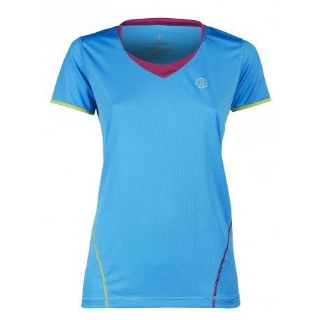 Adelle–Women's T-Shirt Methyl Blue / Violet Size:Large