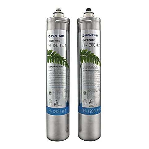 Everpure H-1200Water Filter Replacement Cartridge Set (ev9282–01) by Everpure