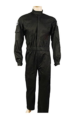 Star Wars Imperial Krawatte Fighter Jäger Pilot Flightsuit Fluganzug Cosplay Kostüm S