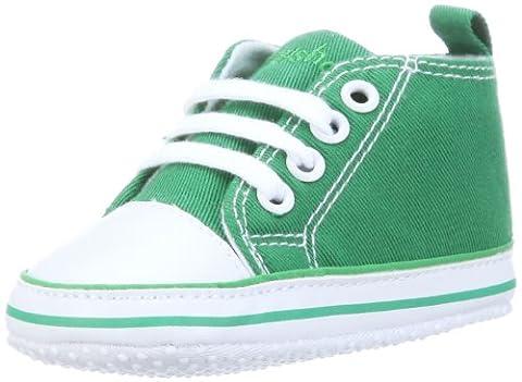 Playshoes-121535-Chaussures pour Bébé - Taille Fabricant: 17 ; vert