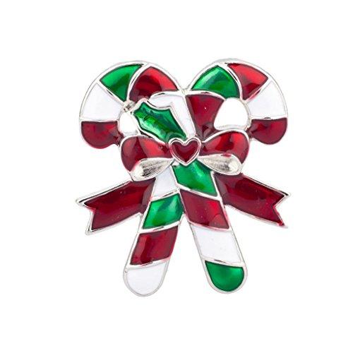LUX accesorios Holiday Navidad Papá Noel broche joyería regalo