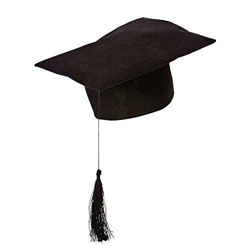 Zubehör Kostüm Lehrer - Lehrer Hut, Kostüm Zubehör für Schule, Universität Fancy Dress