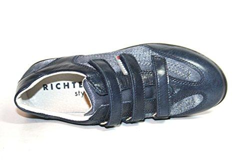 Juge-chaussures 52.4113, chaussures basses fille Bleu - Bleu