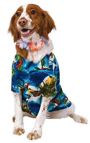 Rubie 's Offizielles largeulau Hemd und Hawaiianische Lei Pet Hund ()