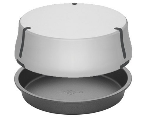 Bake Porter 9-Inch Cake Pan with Serving Cover, Grey by Bake Porter Serving Pan