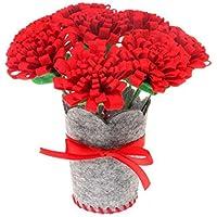 Eleusine Kinder DIY Handgemachte Blume Handwerk Spielzeug Nach Hause Kreative Dekorative Bouquet Stoff Kindergarten Manuelle Material Paket (Stil 2)