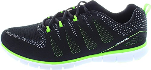 D39;intérieur De Pour Hommes Throat Tempe Chaussures Noirs Sport 8IfREq
