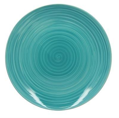 assiette-plate-en-gres-265cm-milano-bleu-3205441-reception-lot-de-6
