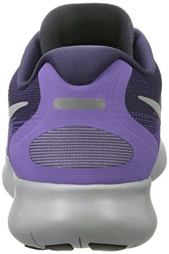 Nike Damen Free Run 2017 Hallenschuhe Mehrfarbig (Dark Raisin/Pure Platinum-Purple Earth)